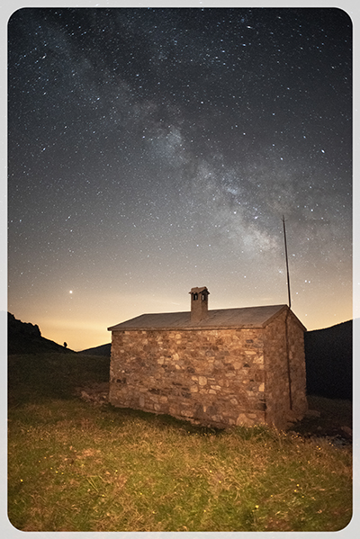 fotos nocturnes al Refugi deSales de Caderget