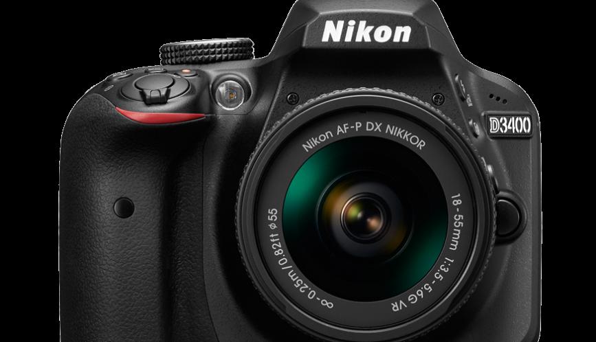 Nova Nikon D3400