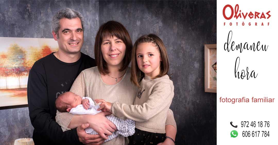 fotos de família amb tots els components de la mateixa