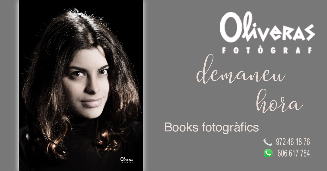publicitat amb una foto de com fer la teva sessió de fotos a Oliveras fotògraf trucan el 972461876